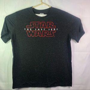 Star Wars The Last Jedi Men's Black T Shirt
